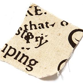 lino estampado con letras en serie sugerencias revista ed
