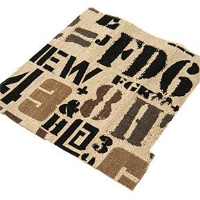 lino estampado con letras y numero en serie sugerencias revista ed
