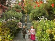 Niños en el jardín