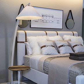 Respaldo de camas y cojines