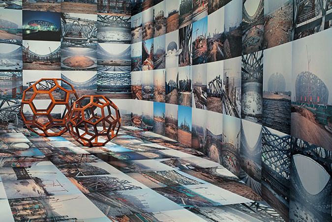 Una vista de la muestra Ai Weiwei: According to what?