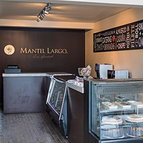 tienda cafe mantel largo