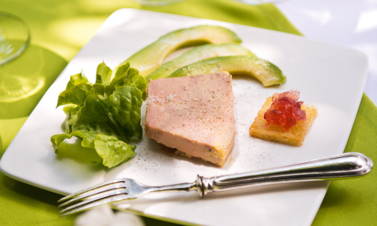 terrina de foie gras revista ed