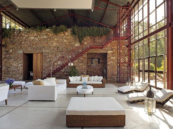 Living casa Punta del Este Revista ED