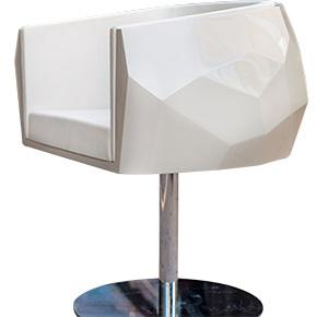 silla crystal fendi estudio jorge fuentes blanco revista ed