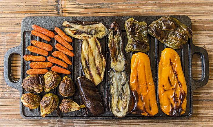 verduras al horno el plato de mercedes calvo revista ed