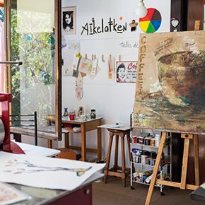 taller de estoril de la artista paz vargas datos ed revista ed
