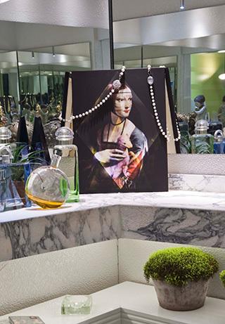 Baño de visitas con vestidor: Francisco Silva