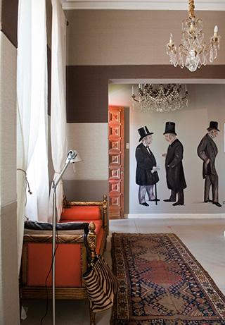Dormitorio de Lia Fernández: Axel Grossman