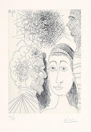 Mejor exposición: Mujeres en la obra gráfica de Picasso