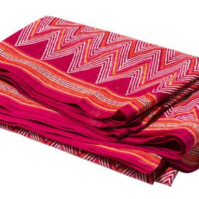 sari de algódón estampado en serie sugerencias revista ed