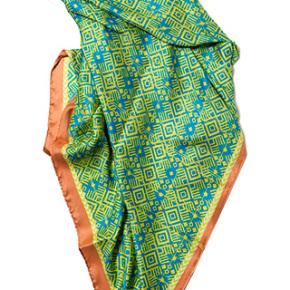pañuelo de seda estampado en serie sugerencias revista ed