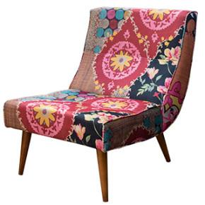 sillón estampado en serie sugerencias revista ed