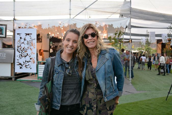 Camila Riesenberg y Anita María Velez