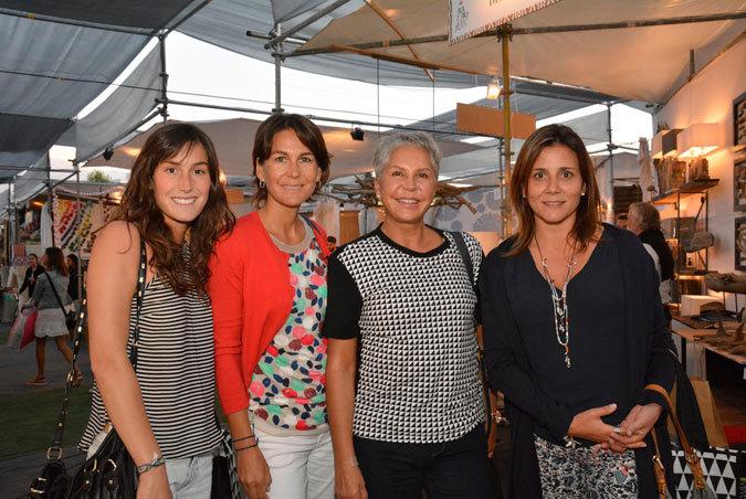 Josefina Moltedo, Loreto Fonzo, Carmen Cruzat y Koka Jander