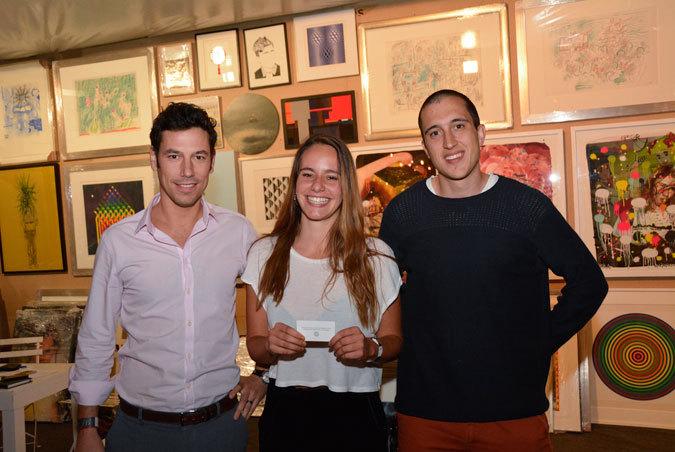 Nicolás Rodríguez, Josefina Andreu y Oscar Buttazzoni