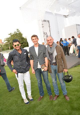 Pablo Ahumada, Javier Lores y Pablo Granell
