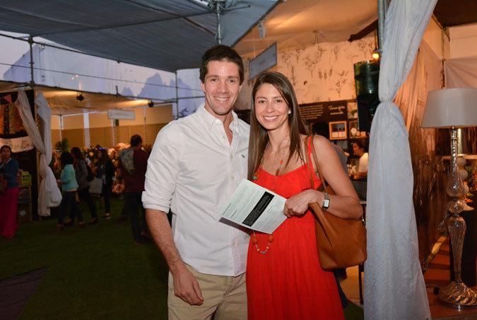 Michael Clark y Andrea Toro