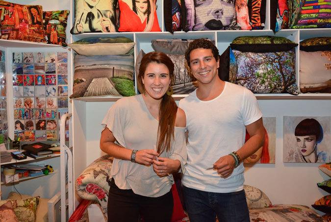 Macarena Arriagada y Arturo Pincheira