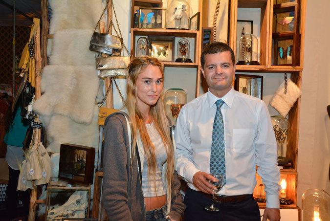 Sofía Carvallo y Felipe Parra