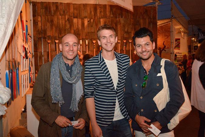 Pablo Granell, Javier Lores y Pablo Ahumada