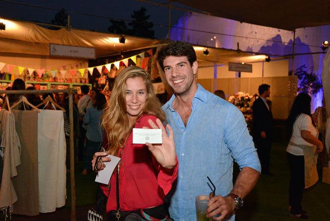 Stephanie Truan y Max Valdéz