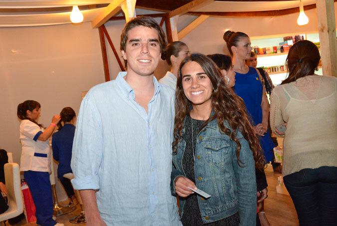 José María Mandujano y Sofía Kurasz