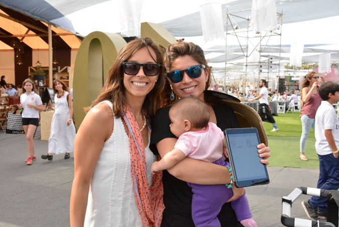 Bárbara Dragicevic, Constanza Vidal y Elena Gómez