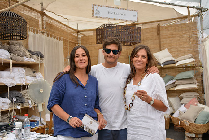 Mónica Palma, Stefano Nardin y Macarena Palma