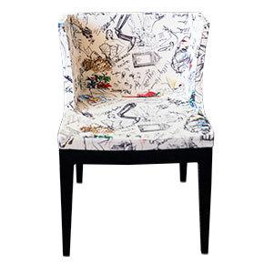 Silla - En serie Jean-Michel Basquiat