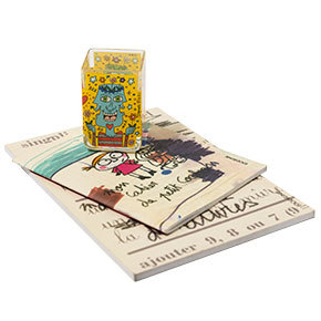 Cuadernos - En serie Jean-Michel Basquiat