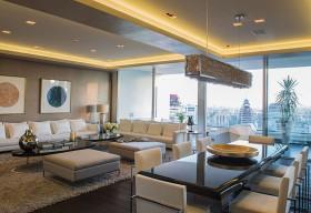 Living comedor residencia hotel W Revista ED