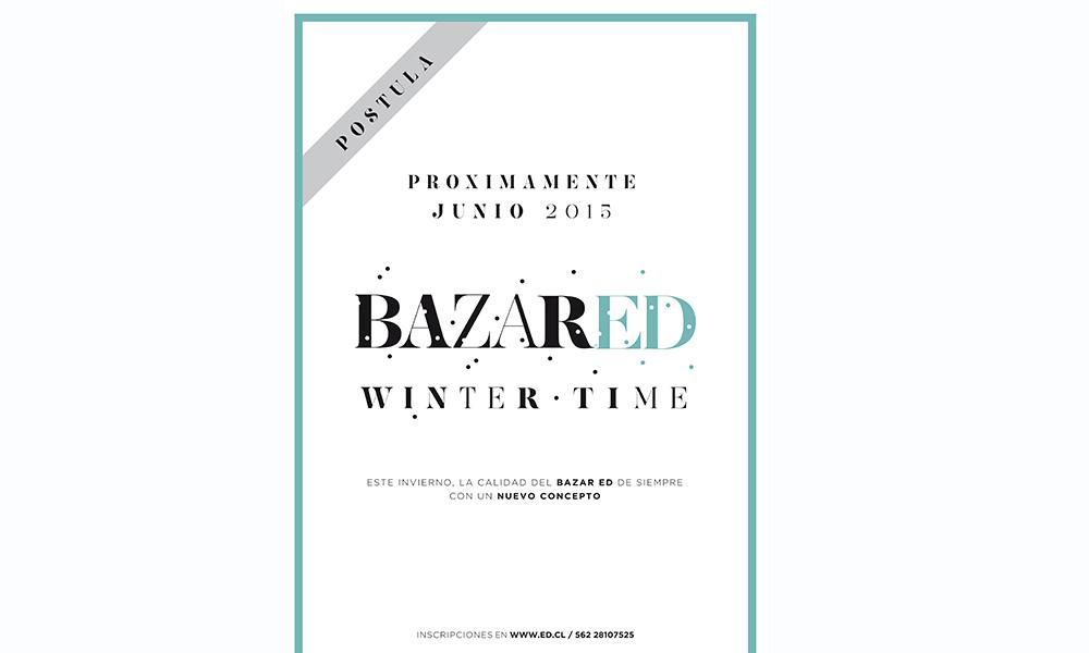 aviso postulación bazar ed winter