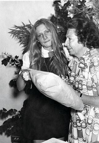 Andrea Eluchans, colegio La Maisonette (1974).