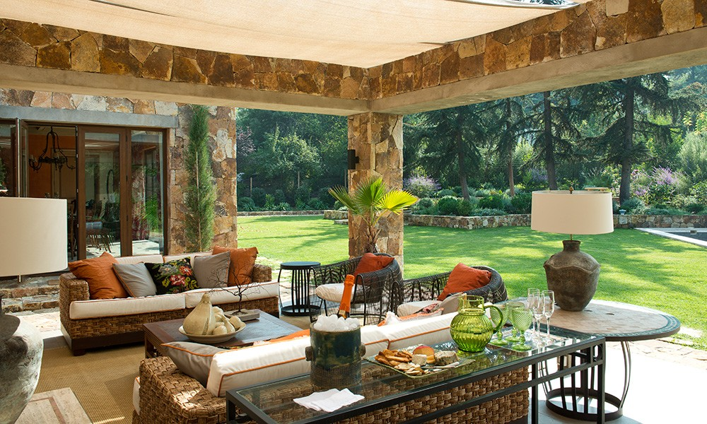 Muebles jardin italianos