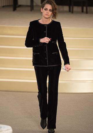 Kristen Stewart en el desfile de Chanel