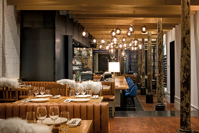 Restaurante Ikanos por Benoit Gerard & Alexandre Blazys