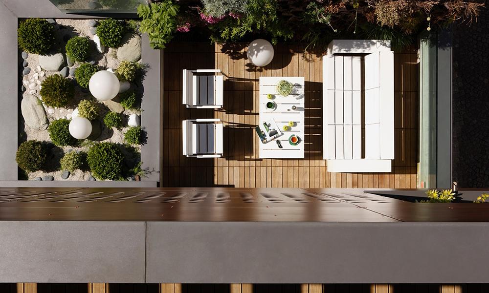 Una casa moderna en par s revista ed estilo y decoraci n for Decoracion de terrazas modernas