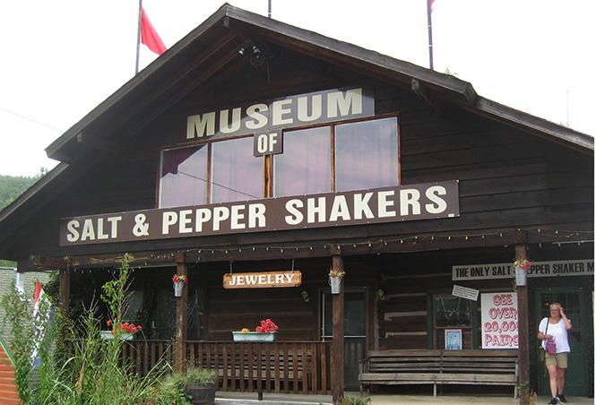 Museo de saleros y pimenteros