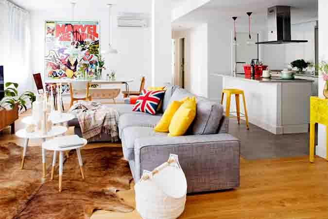 Chaise longue revista ed estilo y decoraci n for Piso relax santiago