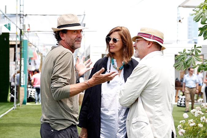 Andrés Illanes, Isabel Soublette y Cristián Fernández