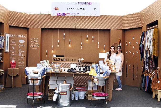 El stand de BazarED.cl, donde se pueden encontrar los productos del Bazar los 365 días del año