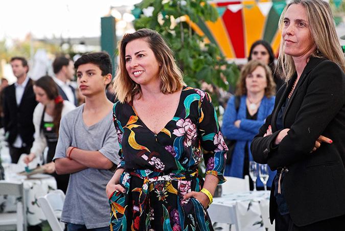 Francisca Sánchez y Andrea Mutoli