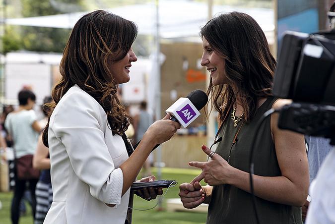 Hortensia Quintana entrevistada por Ahora Noticias de Mega