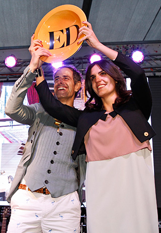 Hugo Grisanti y Kana Cussen, ganadores del Ranking ED en la categoría Mejor Decorador