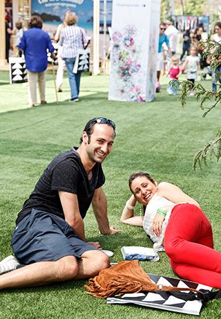 Ignacio Param y Camila Varas