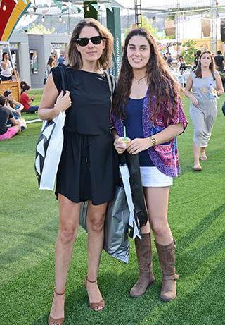 Isabel Undurraga y Clara Rodríguez