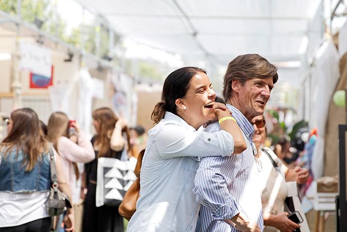 María Paz Ulloa y Pablo Donoso