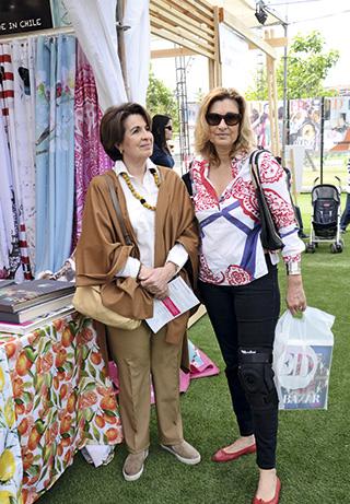 Norka Erlandsen y Paula Gutiérrez