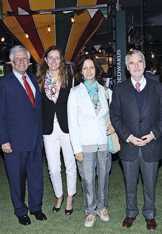 Raúl Torrealba, Paula Urenda, Sol Correa, Baltazar Sánchez